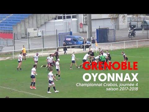 Crabos FCG - Oyonnax, le résumé vidéo
