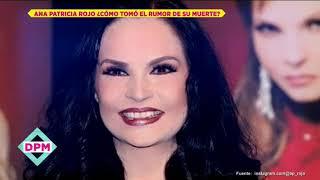 Así reaccionó Ana Patricia Rojo ante el rumor de su muerte | De Primera Mano YouTube Videos