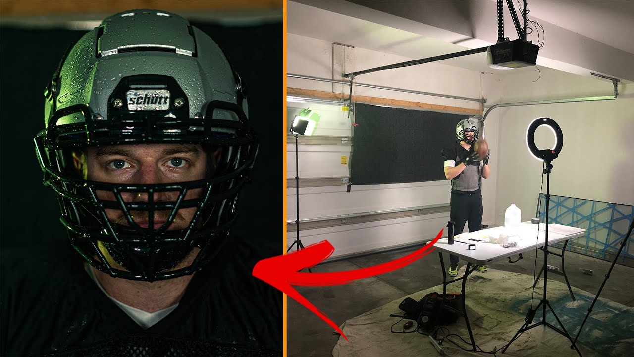 How I Filmed a Football Helmet Commercial in my Garage