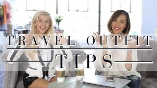 Traveling Outfits With Evelina Barry