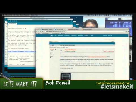 Arduino TVOut On Steroids - Lets Make It - Episode 65 - Tech-Zen.tv - Alixa.tv