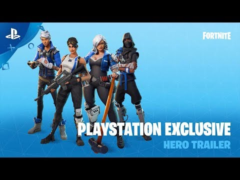 Fortnite – PlayStation Exclusive Hero Trailer | PS4