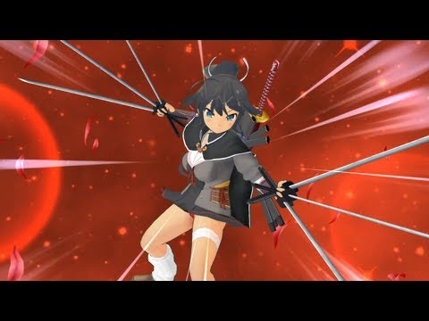 Senran Kagura Shinovi Versus: Crimson Mission 1-01: Training At Dawn (Homura) - 동영상