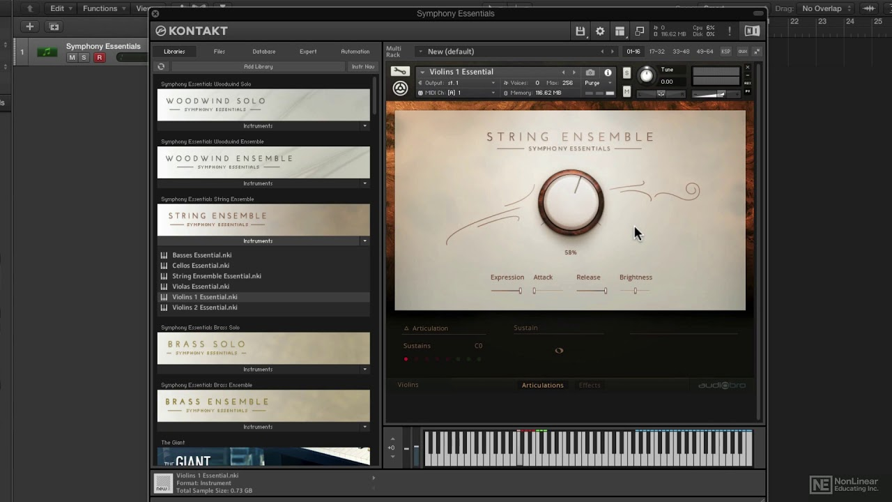 Symphony Essentials Percussion KONTAKT Library Download