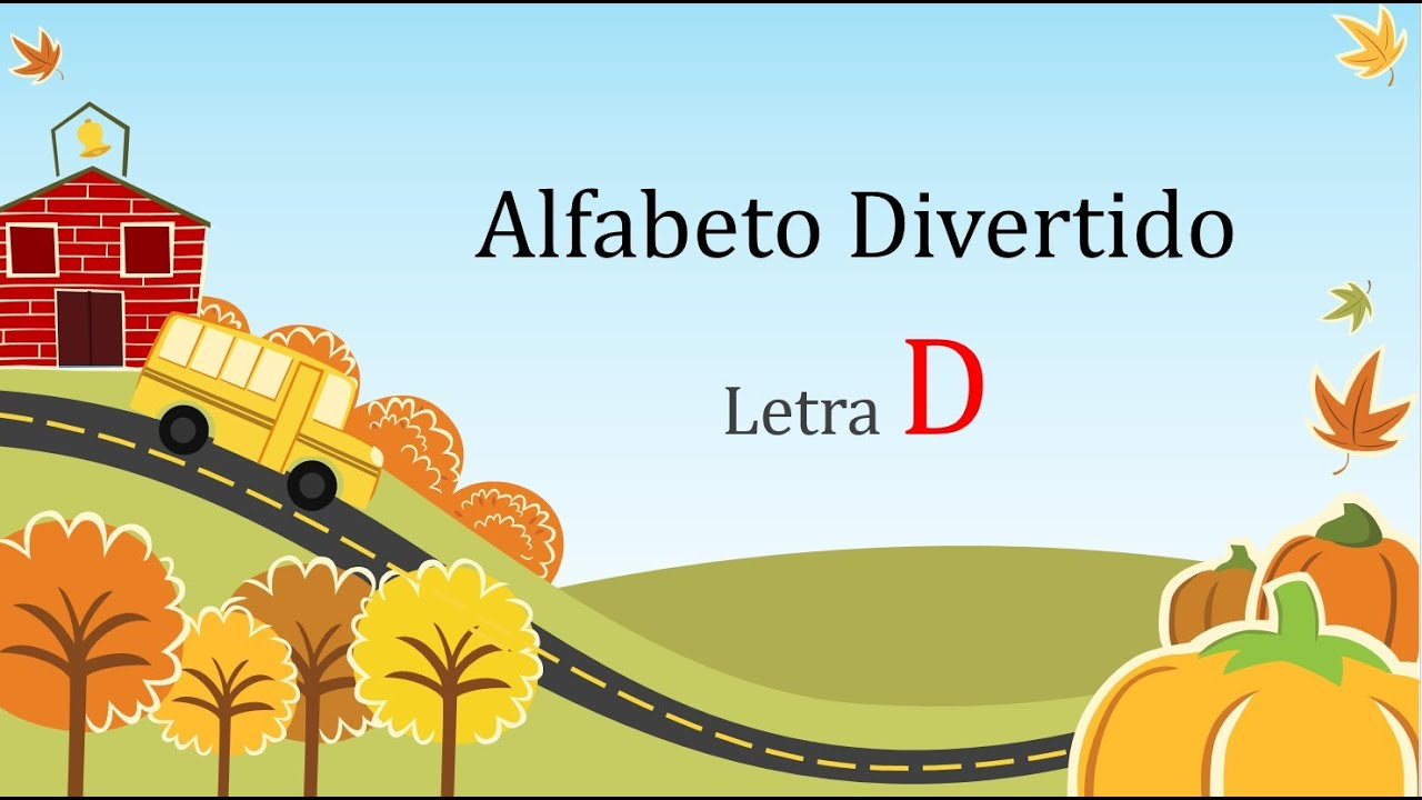 Alfabeto Divertido Letra D