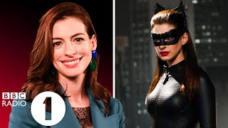 """""""we're Slinky!"""" Anne Hathaway Looks Back On 'harley Quinn', Catwoman, Les Misérables & Interstellar."""