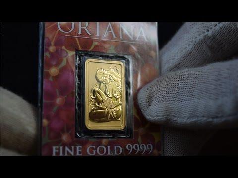 [HD] Perth Mint Oriana Gold Bullion Bar