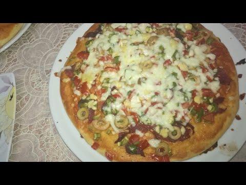صورة  طريقة عمل البيتزا اسهل طريقه لعمل البيتزا بطريقه احترافيه احلى من الجاهزه مع لومى لوما طريقة عمل البيتزا من يوتيوب
