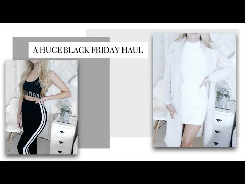 BLACK FRIDAY SHOPPING HAUL 2017 AD | Freya Farrington
