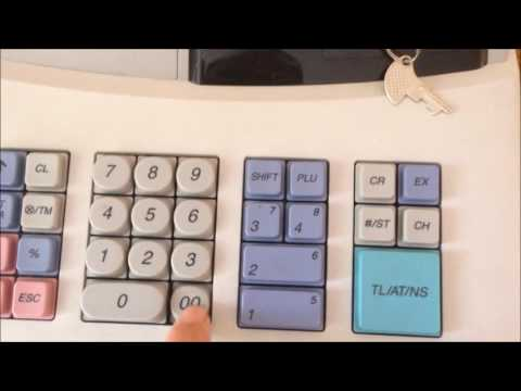 Sharp XE-A102 Cash register: Basic operations (Sales)