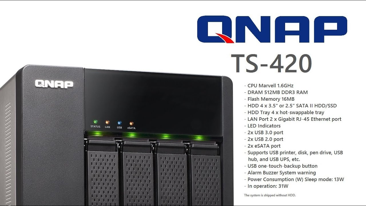 DRIVERS FOR QNAP TS-420-D TURBONAS QTS
