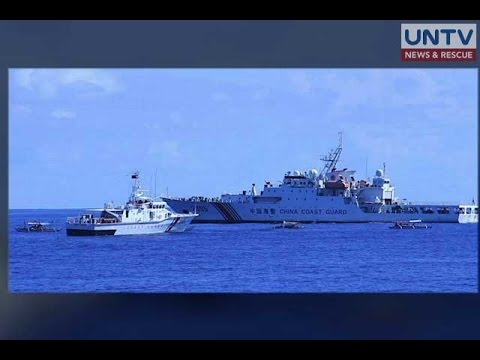 Barko ng Pilipinas at China, nagkasalubong sa karagatang sakop ng West Philippine Sea