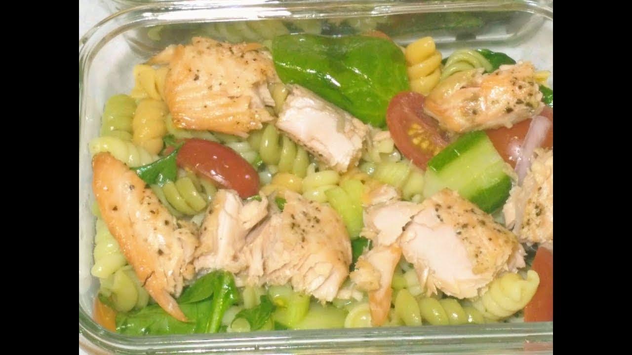 Salade italienne au saumon ep02 dejeuner facile i meal - Youtube cuisine italienne ...