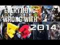 GamingSins *SPECIAL*:  Everything Wrong with E3 2014