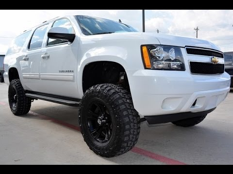 2011 chevrolet suburban ls 1500 4wd lifted suv youtube. Black Bedroom Furniture Sets. Home Design Ideas