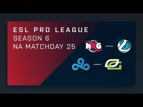 CS:GO: NRG vs. Luminosity | Cloud9 vs. OpTic - Day 25 - ESL Pro League Season 6 - NA Main