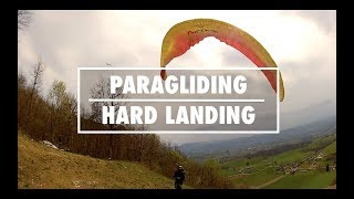 Paragliding | Crazy and Hard Landing #1