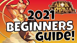 AFK ARENA 2021 BEGINNERS GUIDE! [AFK ARENA GUIDE]