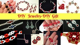 Gift For Her. Jewelry Making Tutorials. Gift Ideas. Beading Patterns For Diy Jewelry