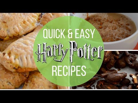 QUICK & EASY HARRY POTTER RECIPES