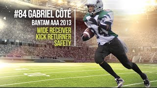 Highlights 2013 # 84 Gabriel Cote Bulldogs de Sherbrooke