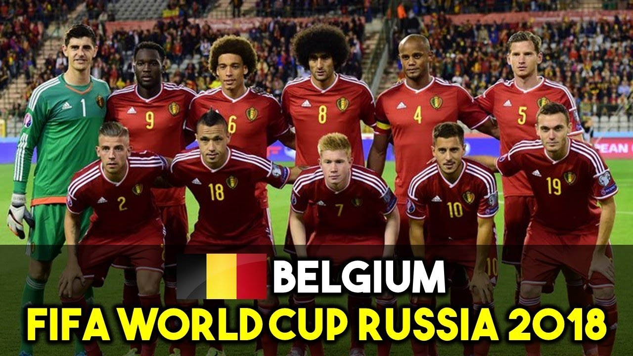 Belgium Squad For Fifa World Cup Russia
