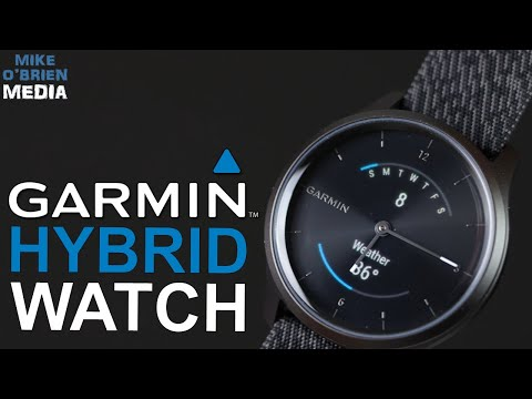 NEW GARMIN VIVOMOVE STYLE Hybrid Smartwatch [NFC Payments, Long Battery, Sleep Track, HR Track]