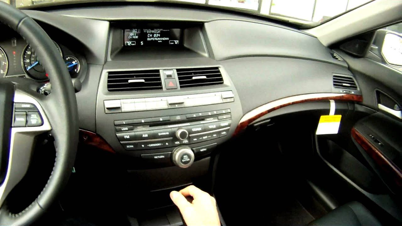 2012 Crosstour Interior Dashboard Instruments Youtube