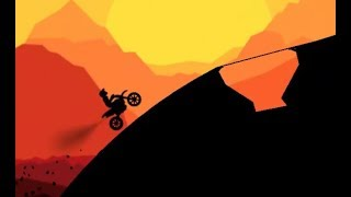Sunset Bike Racer Level 21-30 Game Walkthrough