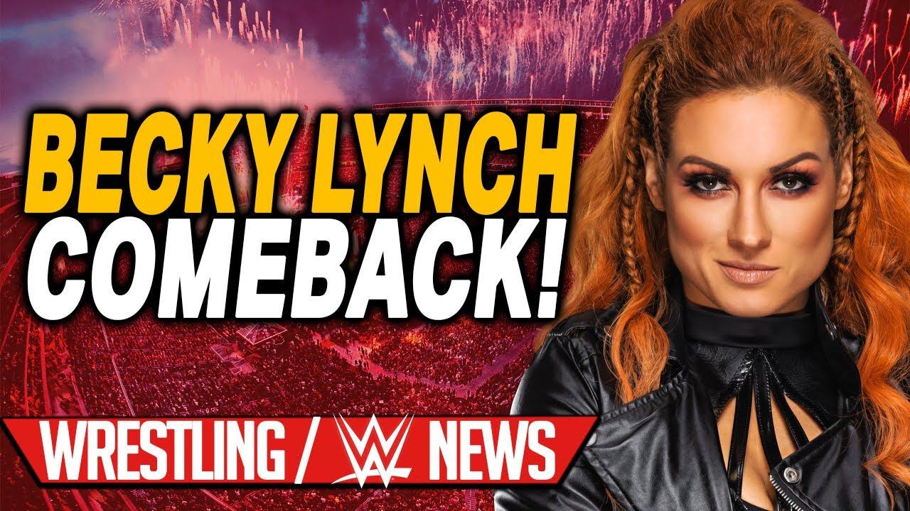 Becky Lynch kurz vor Comeback!, Wieso das Reigns Match verschoben wurde | Wrestling/WWE NEWS 77/2021