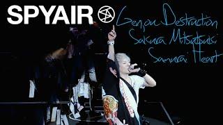 SPYAIR - 現状ディストラクション, サクラミツツキ, サムライハート (Some Like it Hot!!) LIVE
