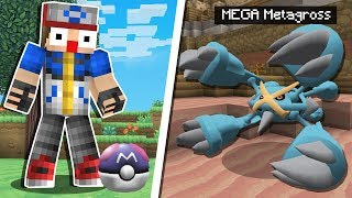 Minecraft Pokémon #24: CAÇANDO TESOUROS POKÉMON E MEGA METAGROSS!