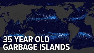 This is how garbage islands have formed in the last 35 years