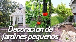 Gambar cover Decoracion 🏡 de jardines pequenos