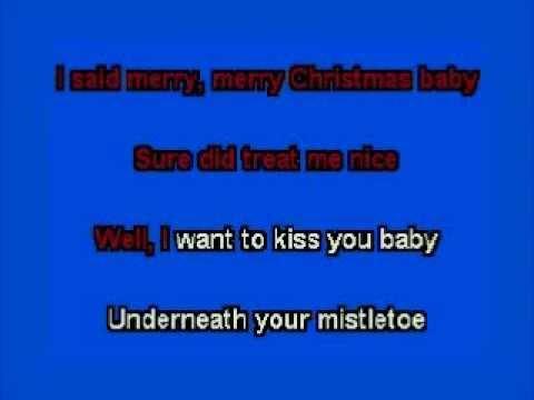 elvis karaoke merry Christmas ba