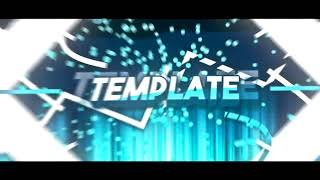 [After Effects] FREE CRAZY Cyan Intro Template #658 + FREE DOWNLOAD