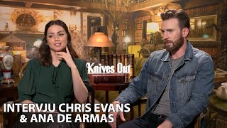 Knives Out | Intervju med Christ Evans & Ana De Armas