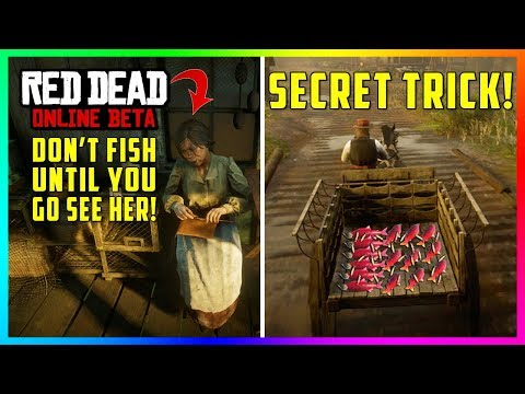 DON'T Go Fishing Again Until You See This Lady In Red Dead Online & Learn About This SECRET Trick!
