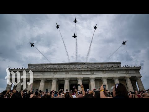 Fireworks, celebrations and Trump: DC celebrates the Fourth of July