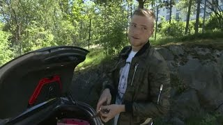 "Guidetti visar upp sportbilen: ""Polisen brukade stoppa mig"" - TV4 Sport"
