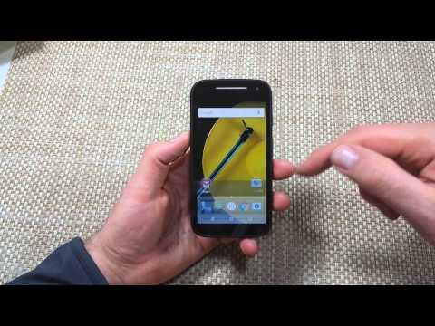 Motorola Moto E 4G (2nd Generation) Change Language Settings back to English or another Language