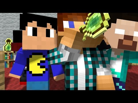 Animação AUTHENTICGAMES ANIMATION MINECRAFT : SONHO YOUTUBER