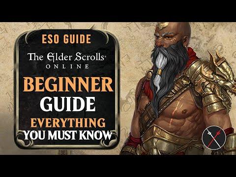 Elder Scrolls Online: Beginner Guide 2018