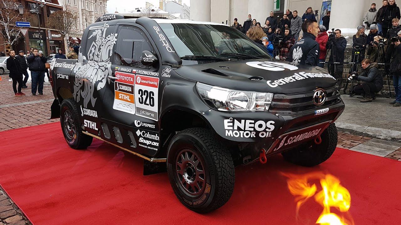 Dakar 2017 Toyota Hilux Race Car Benediktas Vanagas