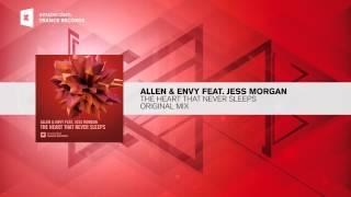 Allen & Envy ft. Jess Morgan - The heart that never sleeps +LYRICS (Amsterdam Trance / RNM)