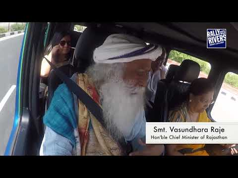 On a Ride with Sadhguru – Being Engaged with the Rivers