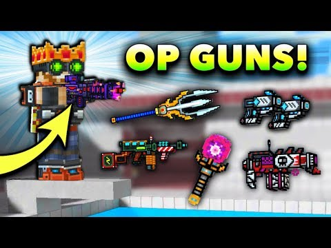 Pixel Gun 3D - OP Weapon Gameplay! (2018)