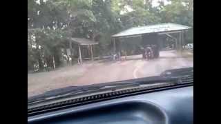 ทางขึ้นลงเขาคิชกุฏ จันทบุรี (ขับได้เทพมาก) 16-17กพ.2556