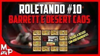 CF LEGENDS - ROLETANDO #10 - ZERANDO A ROLETA DA BARRETT E DESERT EAGLE-CAOS