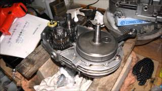 MZ ETZ 150 - oprava motora
